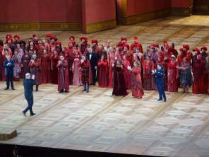 Il trovatore cast, curtain call 14.08.2015