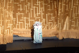 Christine Goerke (Turandot) at curtain call