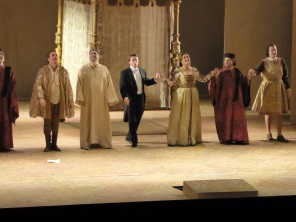 The cast, I Due Foscari
