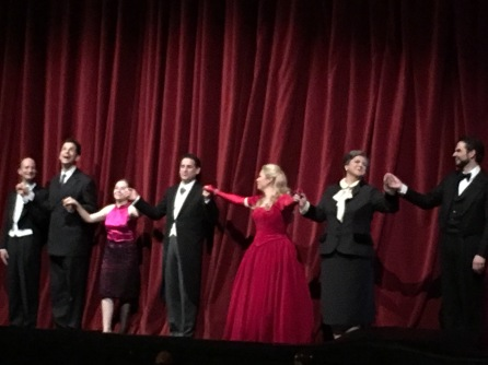 The cast La Sonnambula WSO