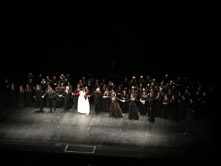 The cast, Maria Stuarda, Opera Roma